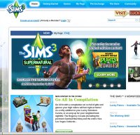 thesims3.com screenshot