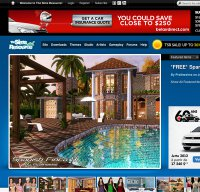 thesimsresource.com screenshot