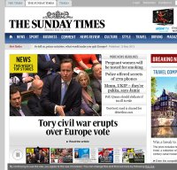 thetimes.co.uk screenshot