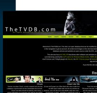 thetvdb.com screenshot