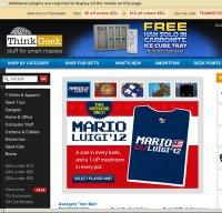 thinkgeek.com screenshot