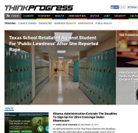 thinkprogress.org screenshot