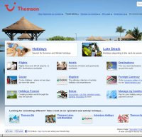 thomson.co.uk screenshot