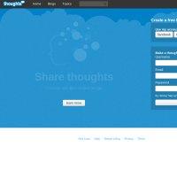 thoughts.com screenshot