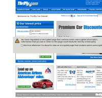 thrifty.com screenshot