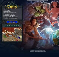tibia.com screenshot