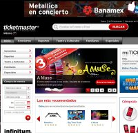 ticketmaster.com.mx screenshot