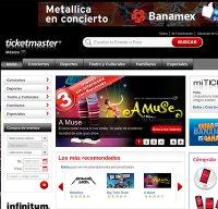 ticketmaster.com.mx screenshot