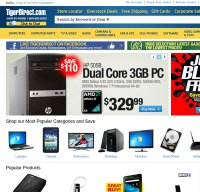 tigerdirect.com screenshot