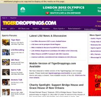 tigerdroppings.com screenshot