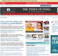 timesofindia.com screenshot