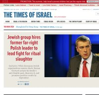 timesofisrael.com screenshot