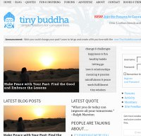 tinybuddha.com screenshot