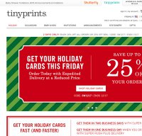 tinyprints.com screenshot