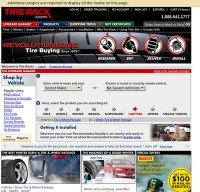 tirerack.com screenshot