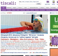 tiscali.it screenshot