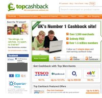 topcashback.co.uk screenshot
