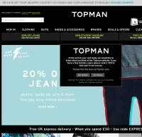 topman.com screenshot
