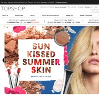 topshop.com screenshot