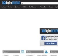 toptenreviews.com screenshot