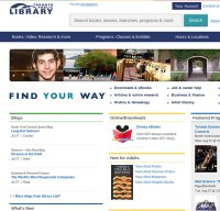 torontopubliclibrary.ca screenshot