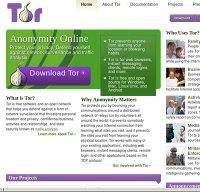 torproject.org screenshot