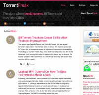 torrentfreak.com screenshot