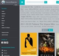 torrentreactor.net screenshot