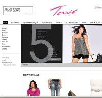 torrid.com screenshot