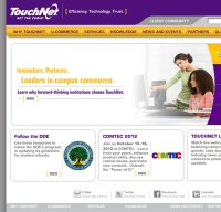 touchnet.com screenshot