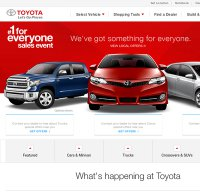toyota.com screenshot