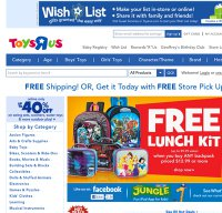 toysrus.com screenshot