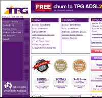tpg.com.au screenshot