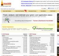 trackitt.com screenshot