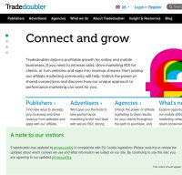 tradedoubler.com screenshot