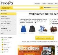 tradera.com screenshot