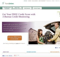 transunion.com screenshot