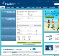 travelocity.com screenshot