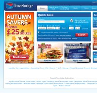 travelodge.co.uk screenshot