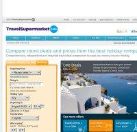 travelsupermarket.com screenshot