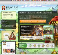 travian.cz screenshot
