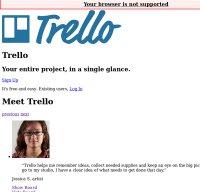 trello.com screenshot