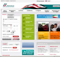 trenitalia.com screenshot