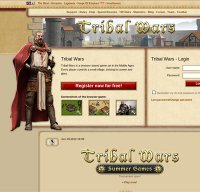 tribalwars.net screenshot