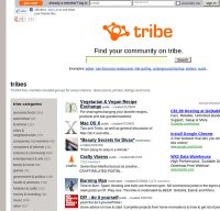 tribe.net screenshot