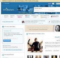 tributes.com screenshot