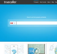 truecaller.com screenshot
