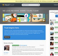 trustpilot.co.uk screenshot