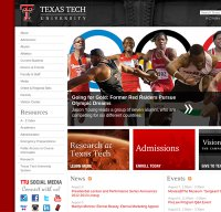 ttu.edu screenshot