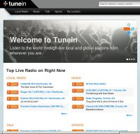 tunein.com screenshot